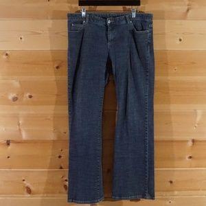 Dark Wash Straight Leg Jeans Michael Kors Size 14